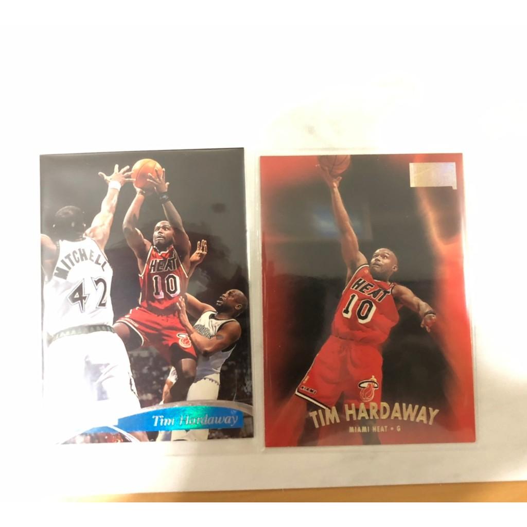 (2張)NBA,籃球卡,球員卡,球卡, Tim Hardaway ,傳奇球星
