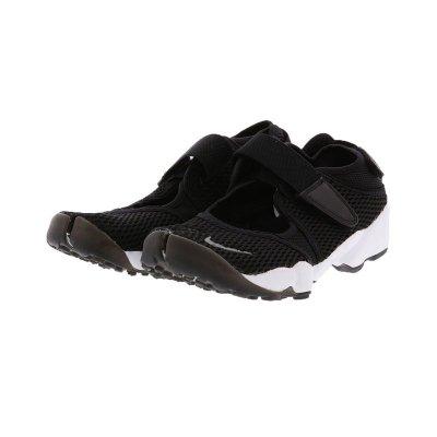 日本 NIKE AIR RIFT BREATHE 忍者鞋 魔鬼氈 網布 運動休閒 輕量 黑色 jp24現貨