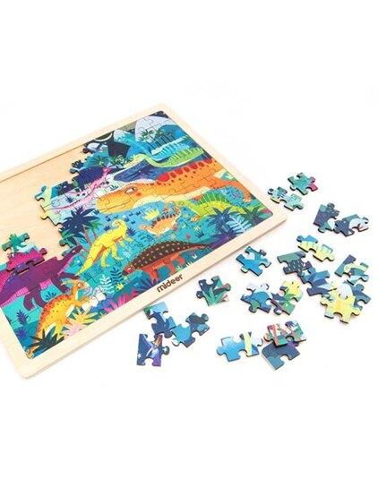 海洋益智拼圖寶寶早教智力拼板兒童玩具3-6周歲 萬客居