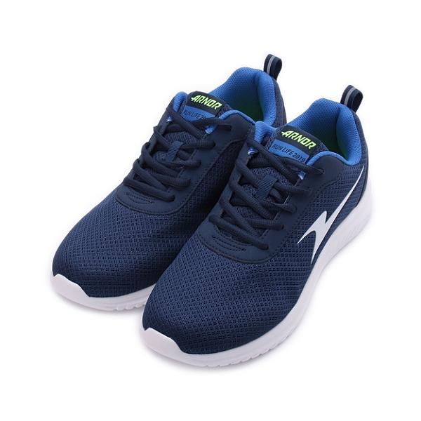 ARNOR 雲端漫遊 休閒跑鞋 藍 AR03176 男鞋
