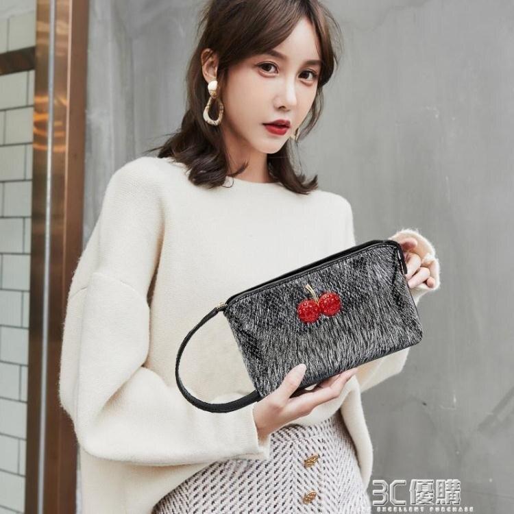 小包女2020新款時尚手拿包韓版零錢包女士手抓可放手機小手提潮包
