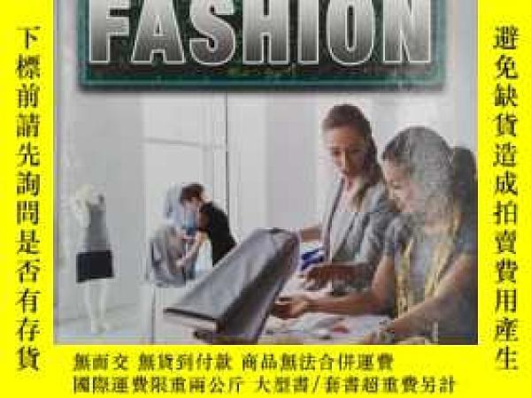 二手書博民逛書店Using罕見Math in Fashion 在時尚中運用數學Y