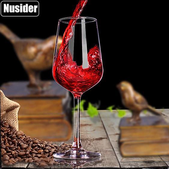 醒酒器 紅酒杯套裝醒酒器家用6只水晶高腳杯玻璃酒具葡萄酒杯一對2個歐式
