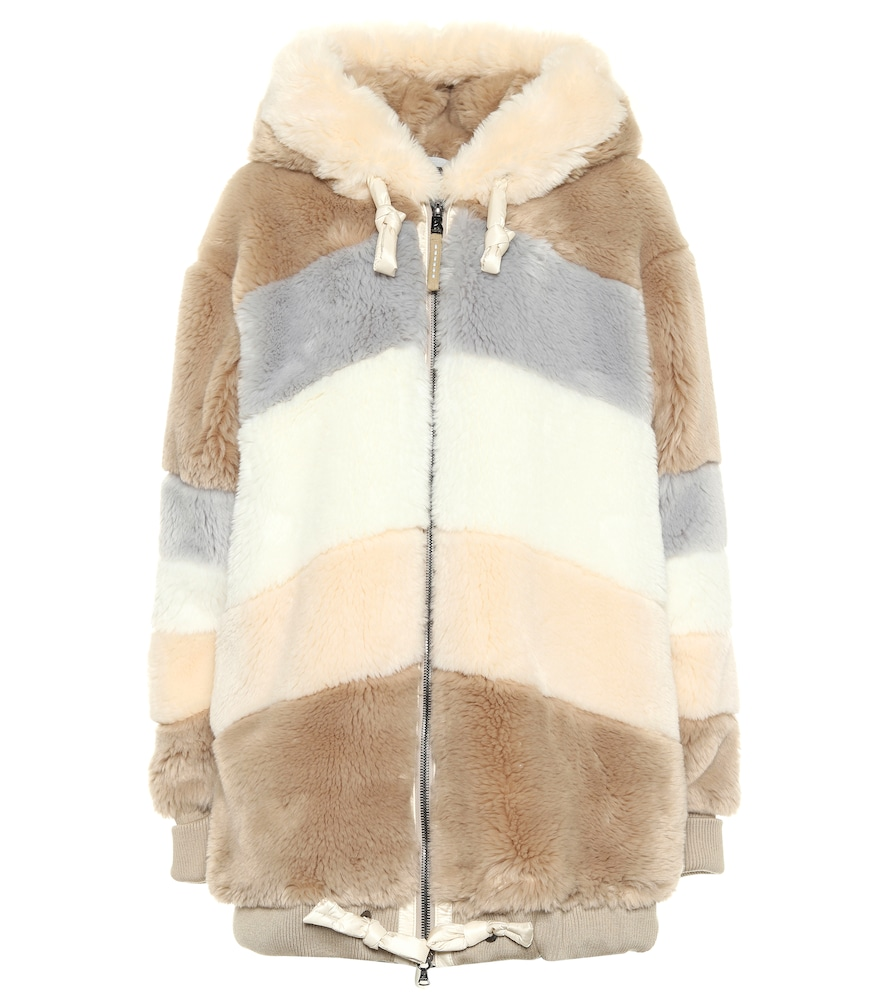 Indra faux-fur jacket
