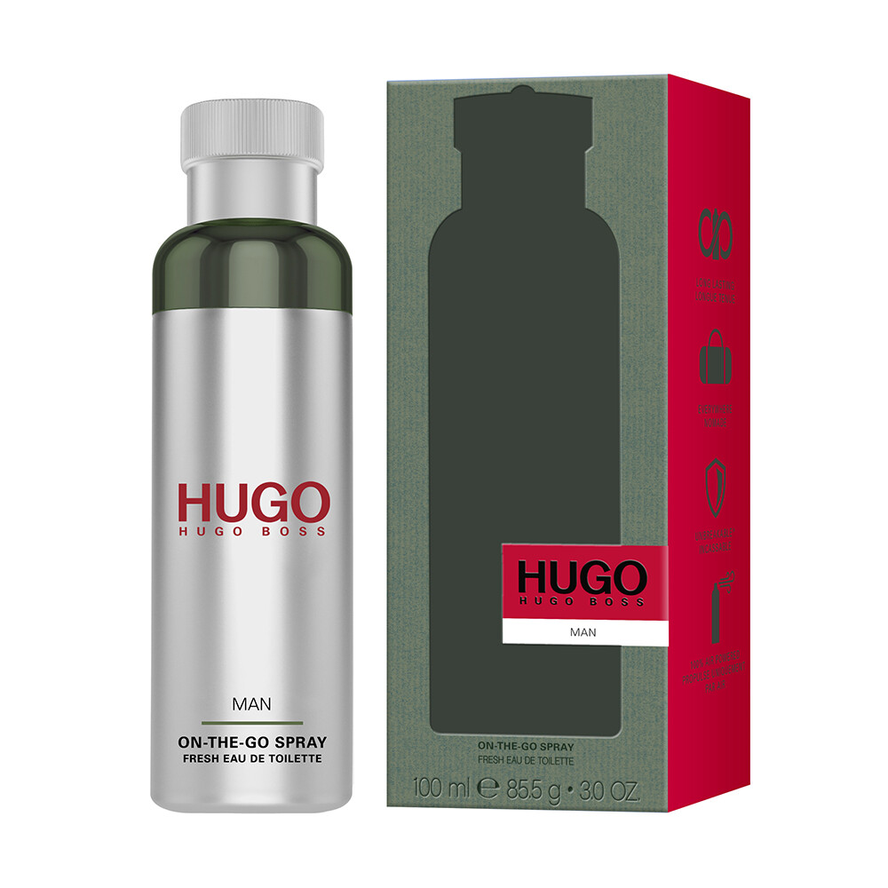 hugo boss hugo man 香氛帶我走噴霧 100ml