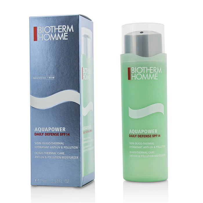 碧兒泉 - 素顏霜Homme Aquapower Daily Defense SPF 14