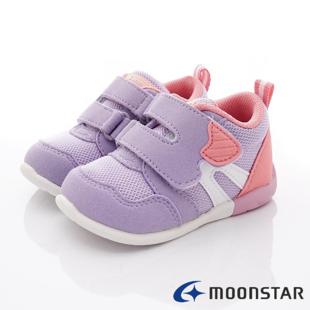 日本月星Moonstar機能童鞋 HI系列 3E穩定款 1119紫(寶寶段)