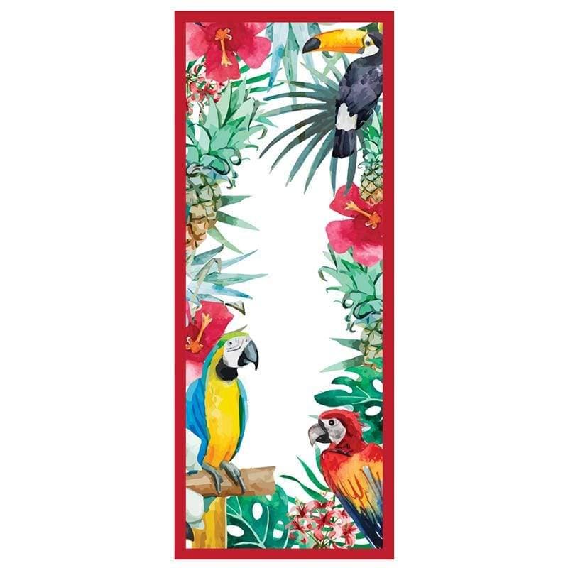 快乾防沙毯-Macaw金剛鸚鵡