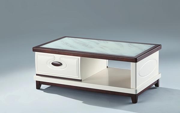 【南洋風休閒傢俱】時尚茶几系列-玻璃實木大茶几 沙發桌 美式咖啡桌 CX681-1