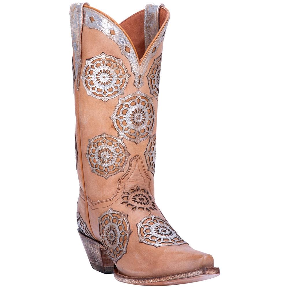 Dan Post Circus Flower - Womens Cowboy Boots