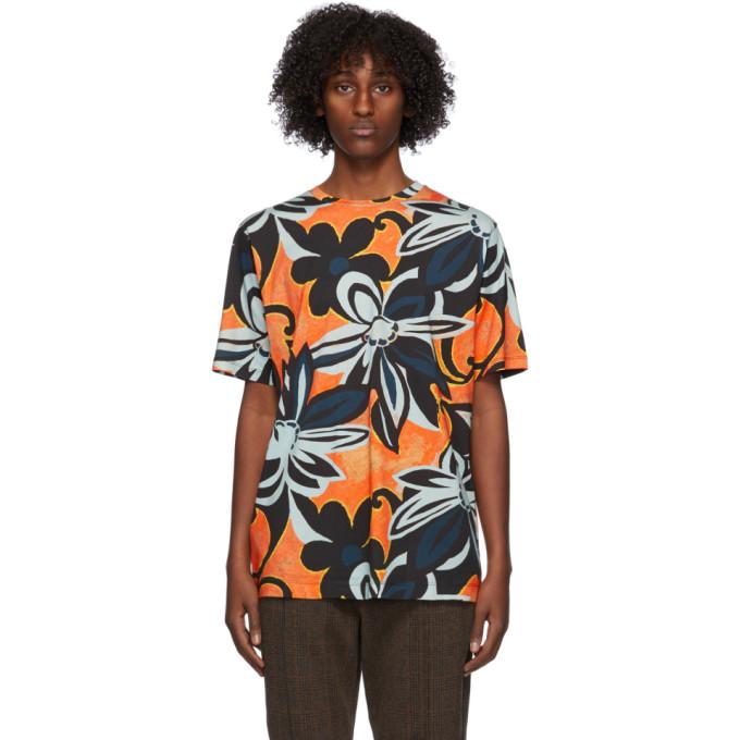 Dries Van Noten 多色图案 T 恤