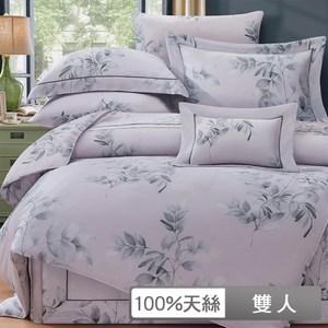 【貝兒居家寢飾生活館】裸睡系列60支天絲兩用被床包組(雙人/約瑟芬)