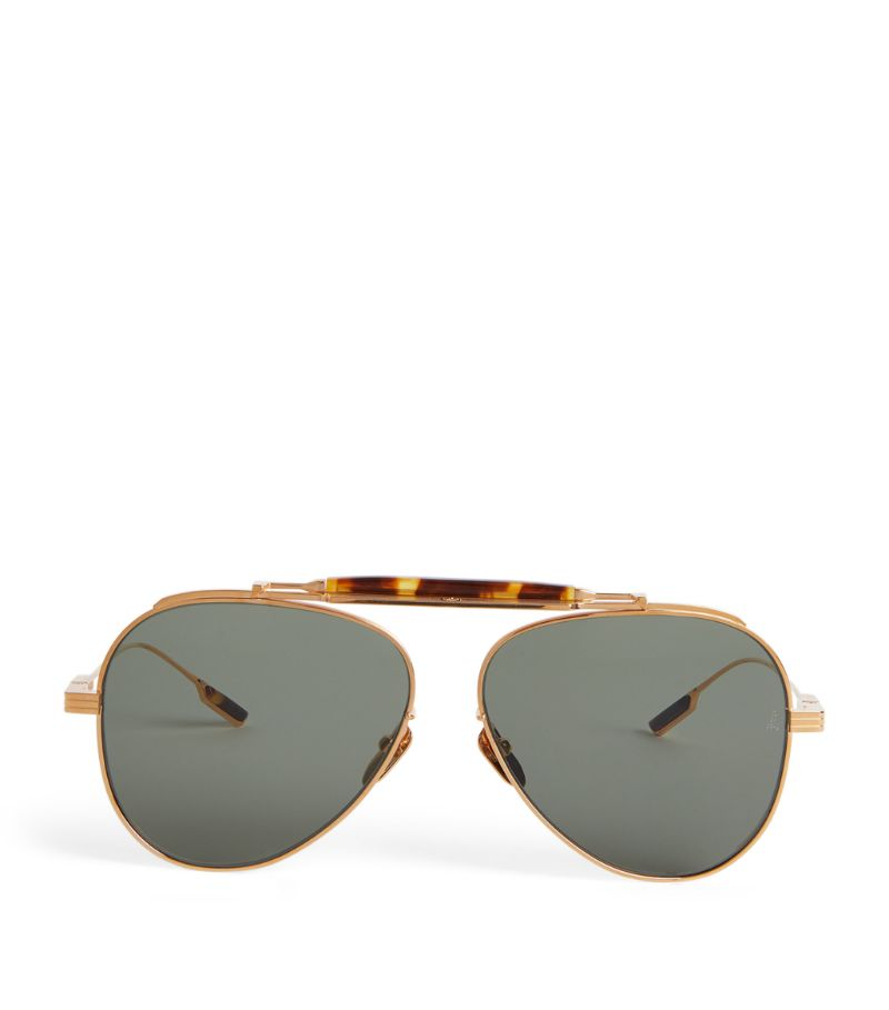 Jacques Marie Mage Geronimo Aviator Sunglasses