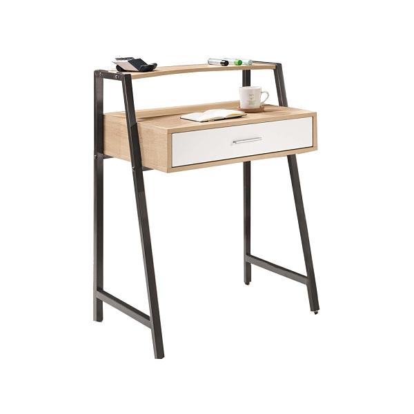 湯米2.2尺黑腳書桌(21HY2/B490-03)/H&D東稻家居