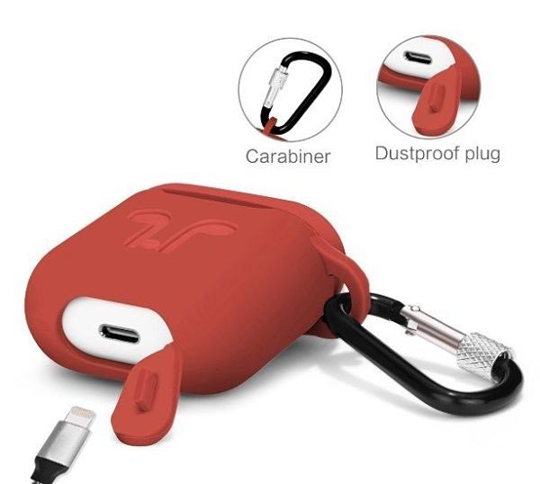 airpods 一代/二代 保護套 加厚矽膠 保護套 iPhone 無線 藍牙 耳機套