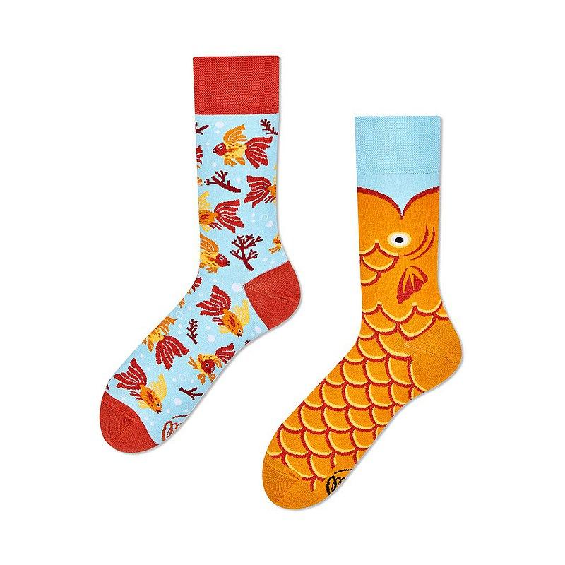 許願魚- 不對稱襪子 鴛鴦襪