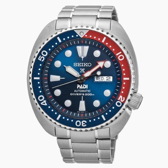 SEIKO 精工 PROSPEX 4R36-05H0B PADI聯名機械潛水腕錶 (SRPA21J1)