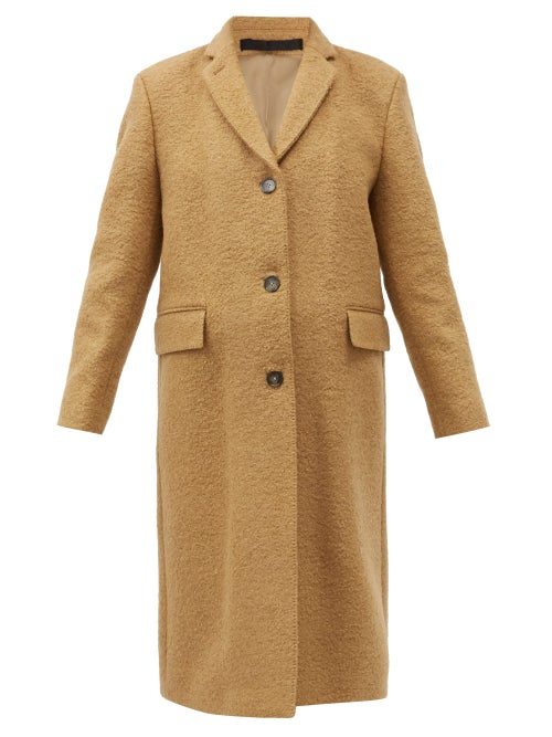 Officine Générale - Amber Virgin-wool Blend Coat - Womens - Camel