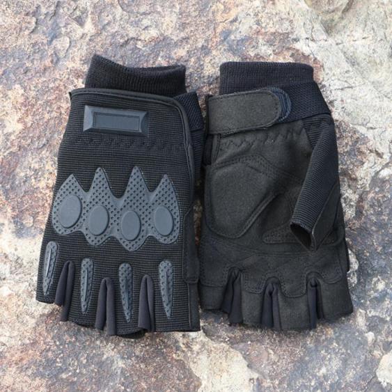 a內手套作訓戰術手套半指男軍迷抓絨保暖戶外騎行釣魚手套