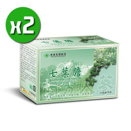 長庚生技 七葉膽茶x2盒 (25包/盒)