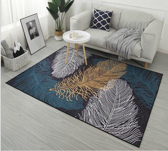 地毯 地墊 止滑墊  北歐系列水晶絨地墊 140x200cm (多款任選)