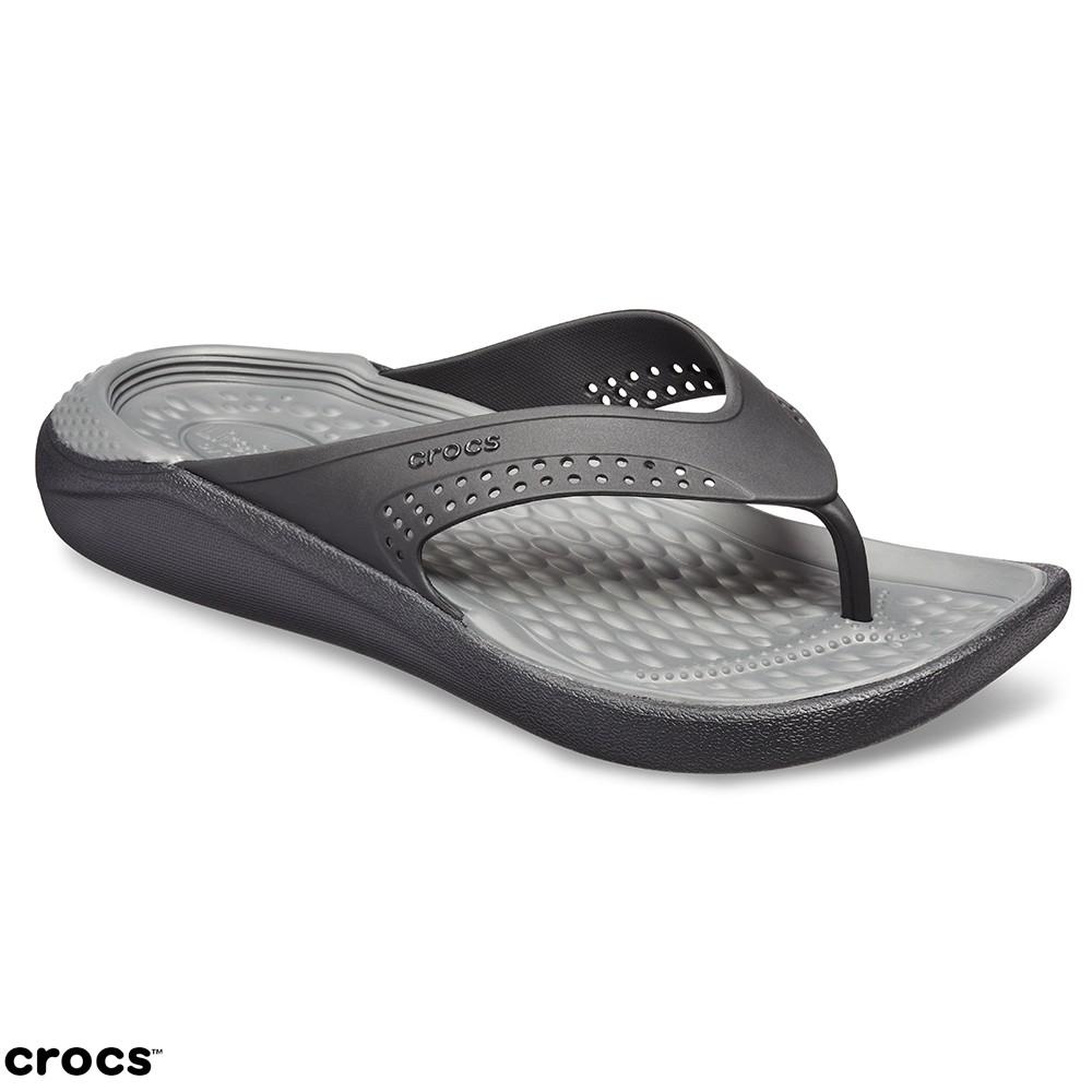 Crocs卡駱馳(中性鞋)LiteRide人字拖-205182-0DD