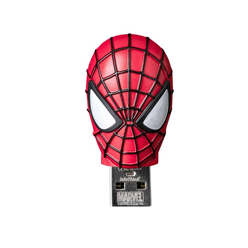 InfoThink 蜘蛛人系列鋅合金造型隨身碟 16GB