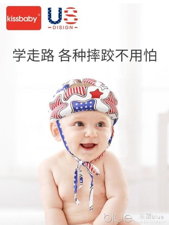 2021搶先款 美版kissbaby寶寶防摔頭部保護墊嬰兒學步防摔護頭帽兒童防撞神器 新年狂歡