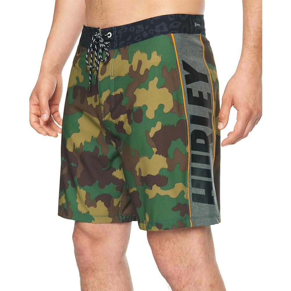 Hurley M PHTM FL WOODLAND 18 CARGO KHAKI 海灘褲-PHANTOM(迷彩)