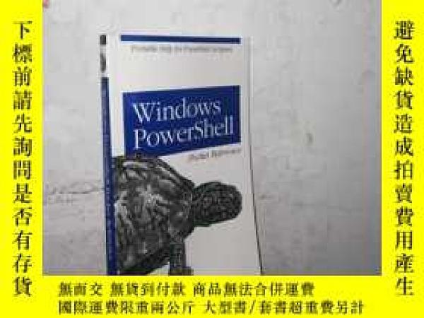 二手書博民逛書店罕見WindowsPowershellY28391 lee Ho