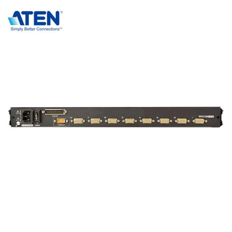 ATEN CL5708M 8埠PS/2-USB VGA單滑軌LCD KVM多電腦切換器