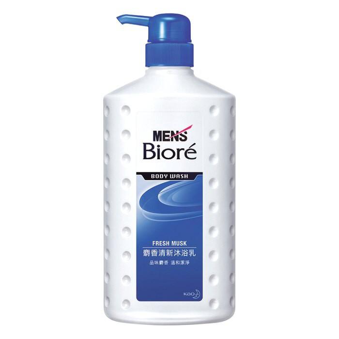 MEN's Biore 男性專用麝香清新沐浴乳 麝香清新 750ml