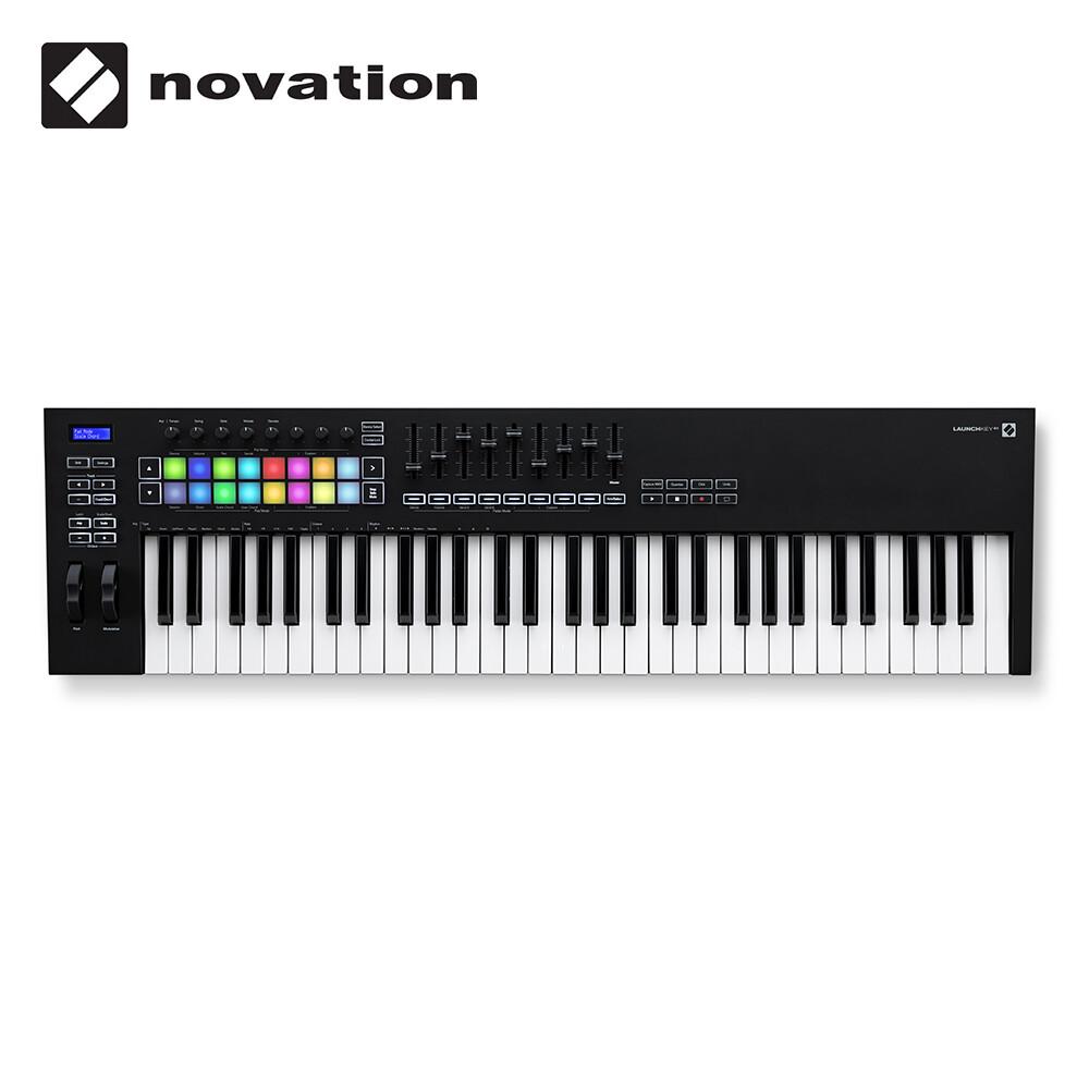 敦煌樂器novation launchkey 61 mk3 控制鍵盤
