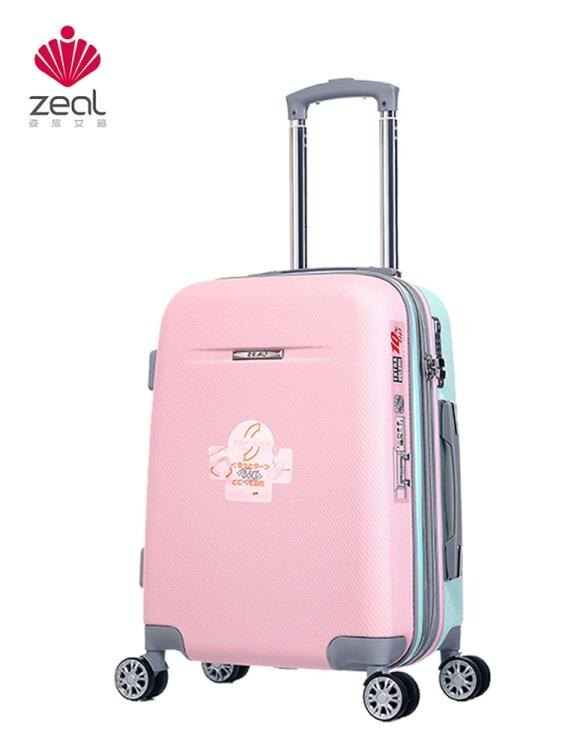 行李箱-小清新行李箱女小型拉桿箱可愛18寸旅行箱韓版兒童密碼箱學生箱子 YYS 聖誕節禮物