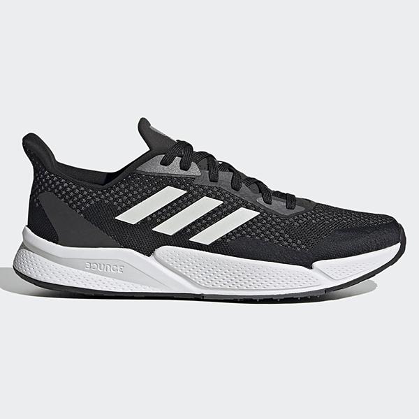 ADIDAS X9000L2 男鞋 慢跑 BOUNCE中底 避震 網布 透氣 耐磨 黑 白【運動世界】FW8070
