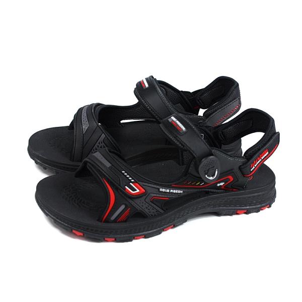 G.P 阿亮代言 涼鞋 黑/紅 男鞋 G0793-14 no255