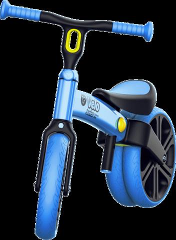 Y-Volution VELO Junior可變單雙輪模式平衡滑步車/學步車  藍