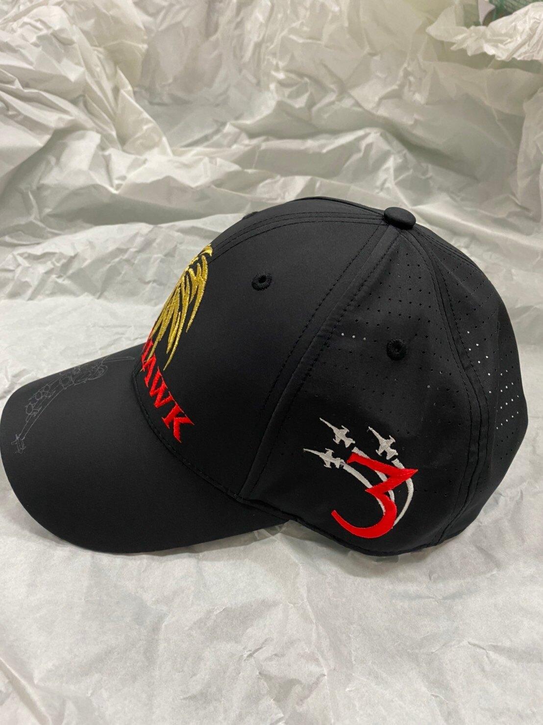 【我愛空軍】台灣製 帽 慶祝814空軍節特惠價 IDF便帽 蒼鷹 棒球帽 黑色C3-129