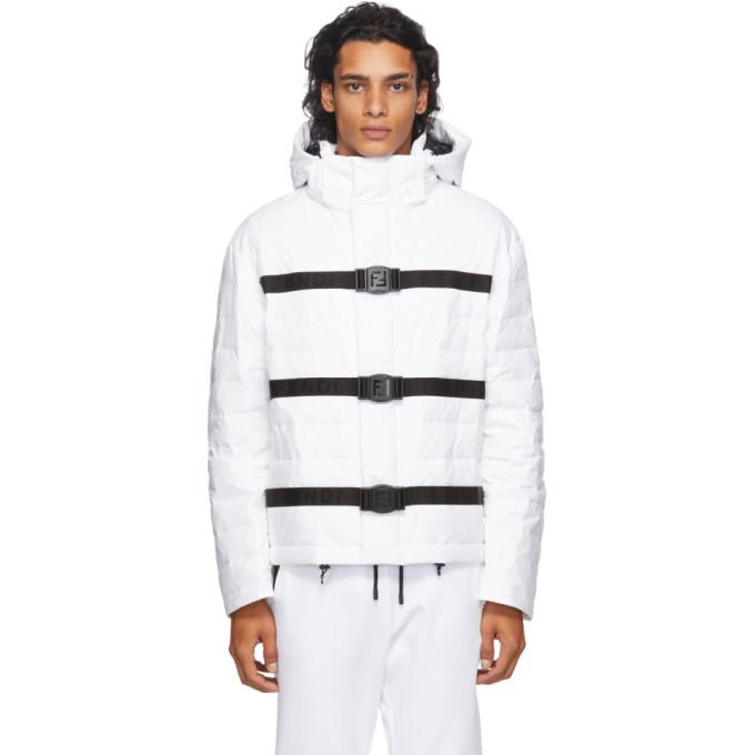Fendi 白色羽绒夹克
