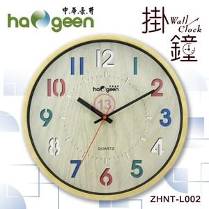 中華豪井 (13吋)靜音掃描掛鐘 ZHNT-L002