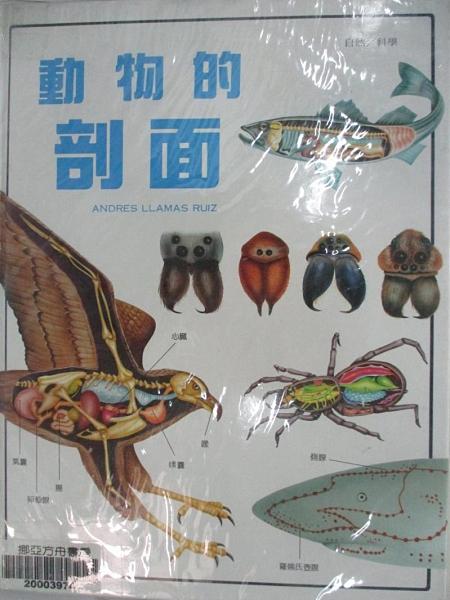 【書寶二手書T7/少年童書_DNQ】動物的剖面_原價900_Andres Llamas Ruiz原