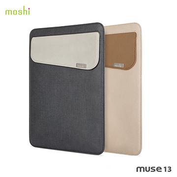 Moshi Muse 13 防傾倒皮革內袋