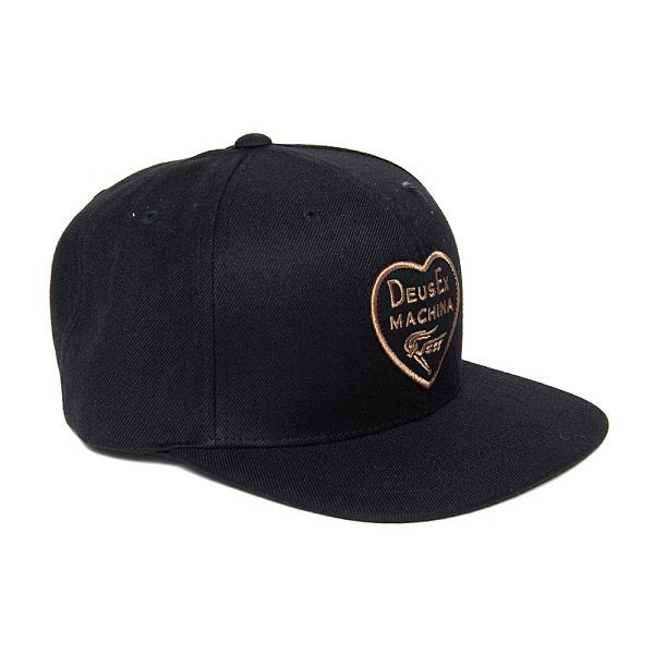 Deus Ex Machina Heart Baseball Cap 棒球帽 - 黑