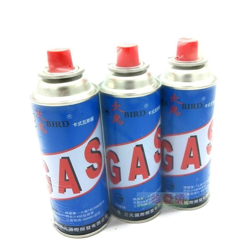 【珍愛頌】K052 卡式瓦斯罐(一組三瓶)