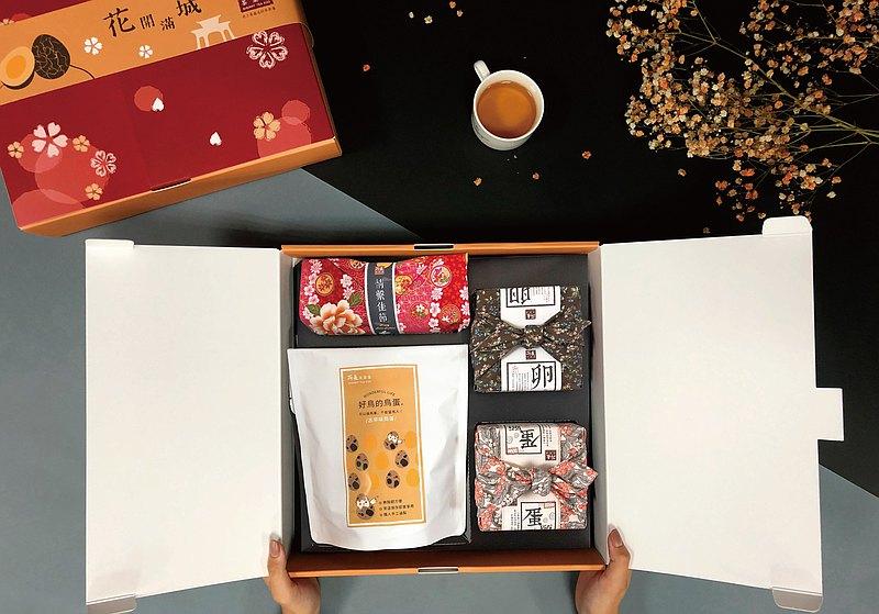 ∣所長茶葉蛋∣花開滿城頂級禮盒∣最厚的禮數、最濃的人情味