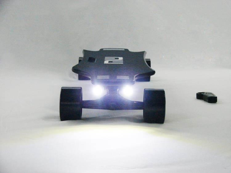 電動滑板車 電動滑板車公路長板小魚板四輪滑板無線滑板體感遙控SK90B新款