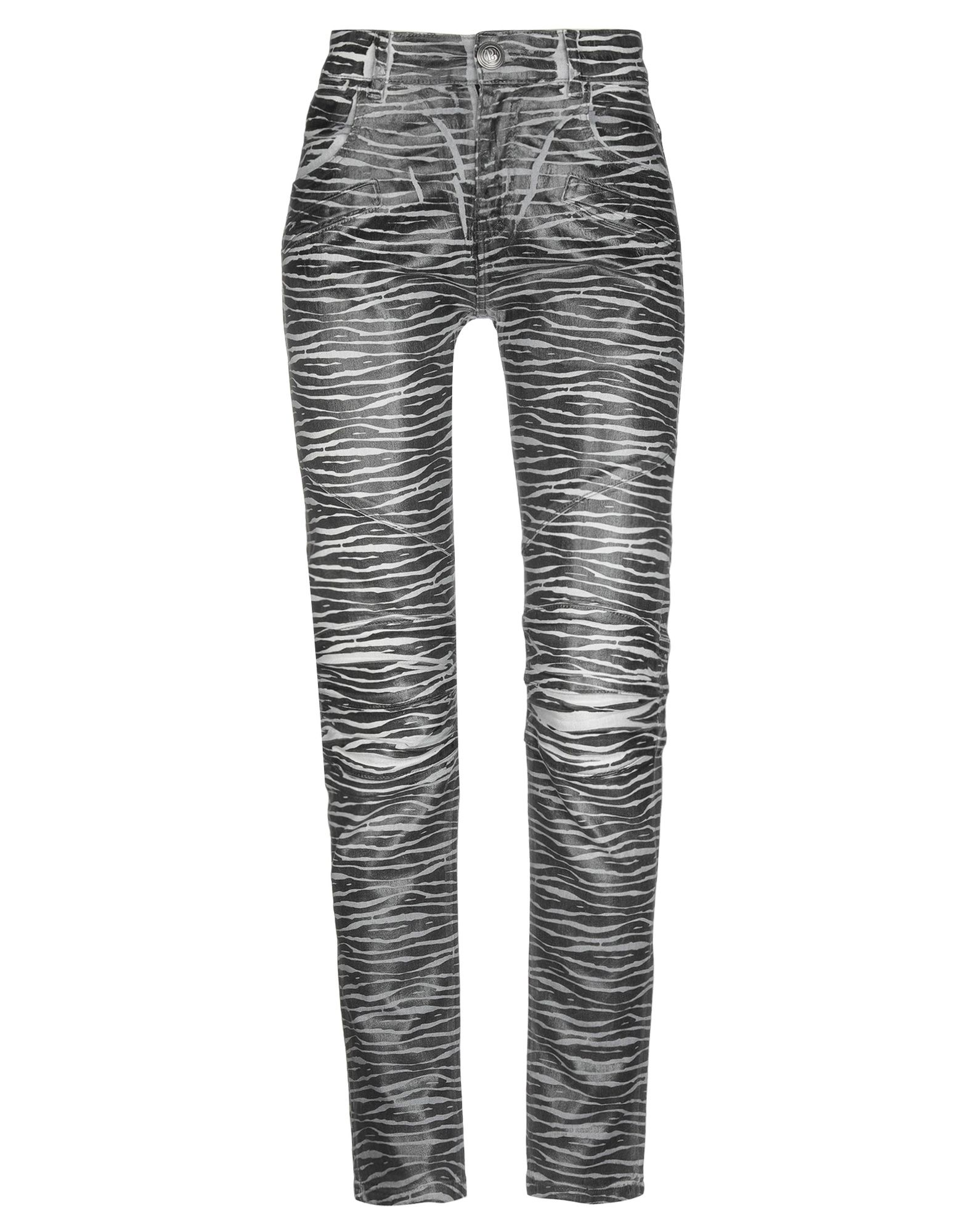 PIERRE BALMAIN Denim pants - Item 42726874