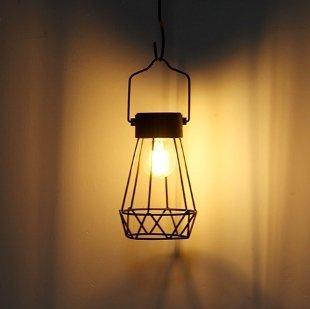 ☀️傑能科技☀️ 太陽能仿鎢絲 LED吊燈 桌燈 小夜燈 露營燈 庭院燈 裝飾燈 戶外防水掛燈 造景燈 C-68