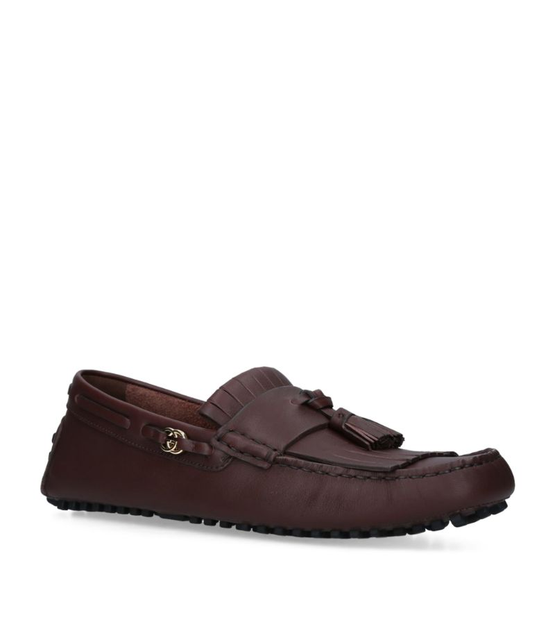 Gucci Ayrton Tassel Driving Shoes