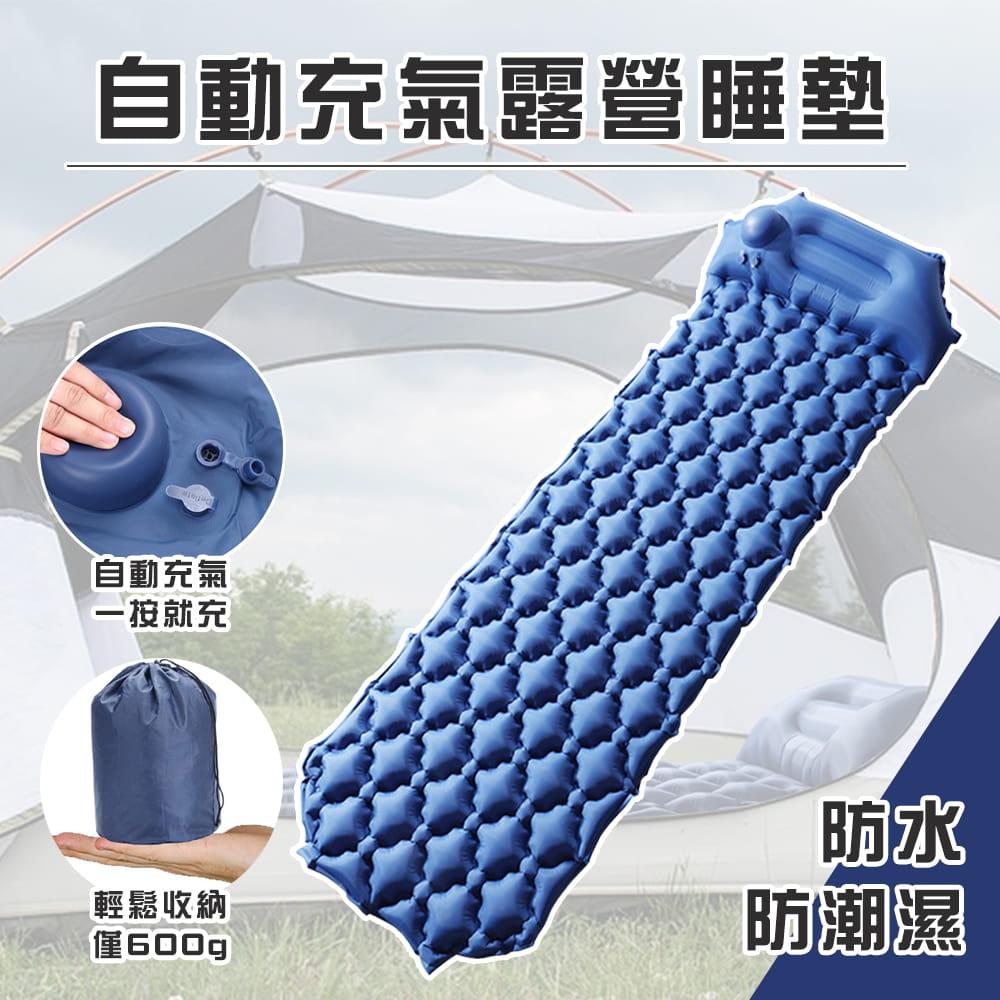 自動充氣露營睡墊